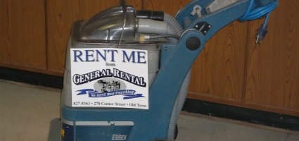 equipment Rentals in Old Town ME, Milford, Pea Cove, Eddington, Bradley, Orono, Bangor ME